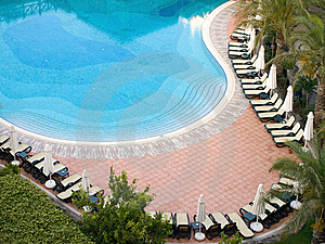 Swimming Pool In Morning Royalty Free Stock Images - Image: 17451199