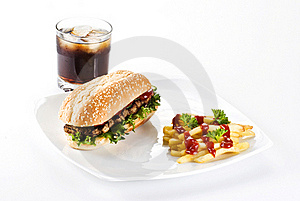Ribeye Steak Meal Stock Photography - Image: 17451832