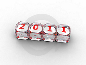 Dice Diamond 2011 Stock Images - Image: 17453994