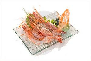 Amaebi Sashimi Royalty Free Stock Image - Image: 17454896