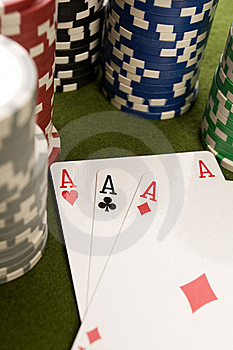 Poker Cards Stock Photography - Image: 17458322