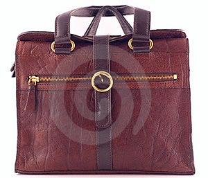 Brown Ladies Handbag Stock Images - Image: 17460234