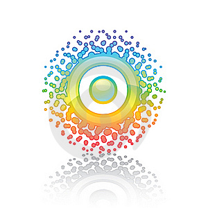 Sign Rainbow Sun Stock Images - Image: 17460804