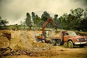 Construction Site Stock Photos - Image: 17461123