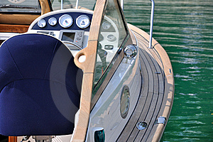 Control Of A Yacht Stock Photo - Image: 17462200