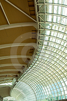 Steel And Glass Ceiling Stock Photos - Image: 17465333