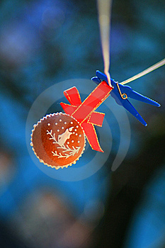 Christmas Gingerbread Ball Royalty Free Stock Images - Image: 17466549