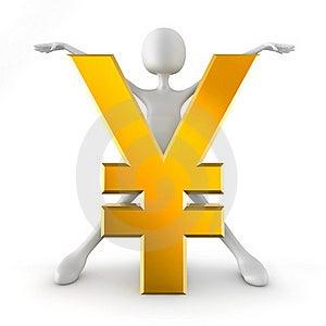 Yen Sign Stock Photos - Image: 17468203