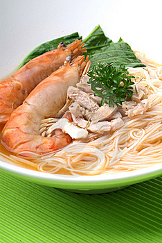 Seafood Noodles Royalty Free Stock Photo - Image: 17470115