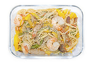 Almoço Da Caixa Fotografia de Stock - Imagem: 17470262