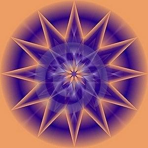 Purple Star Stock Image - Image: 17472231