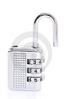 Open Combination Padlock Stock Images - Image: 17475464