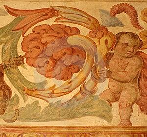 Ancien Fresco Royalty Free Stock Images - Image: 17478579