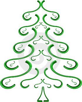 Green Spruce Tree Stock Images - Image: 17479454
