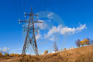 Reliance Power Line. Royalty Free Stock Photography - Image: 17481617