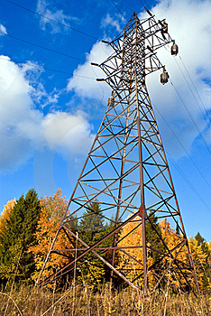 Reliance Power Line. Royalty Free Stock Image - Image: 17481816