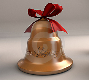 Xmas Bell Royalty Free Stock Image - Image: 17484126