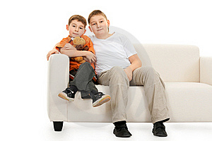Two Brothers Royalty Free Stock Photography - Image: 17492607