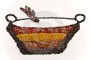 Spice Bowl Royalty Free Stock Photo - Image: 17492875