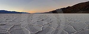 Polygon Salt Pans Panoramic Stock Photography - Image: 17493182