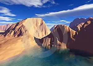 Colorful Fantasy Landscape Stock Image - Image: 17493241