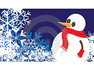 Snowman Stock Image - Image: 17493451