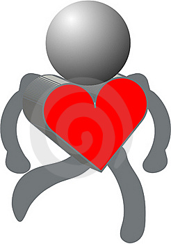 Heart And Figures Royalty Free Stock Photography - Image: 17493637