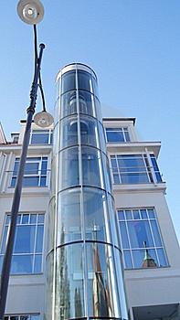 Glass Tower Stock Images - Image: 17495714