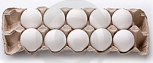 Photo Of Eggs Package. Stock Photos - Image: 17496793