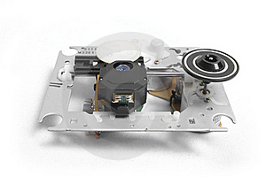 CD Drive Isolated Royalty Free Stock Photography - Image: 17496927