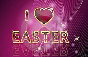 Easter Card Royalty Free Stock Photo - Image: 17497315