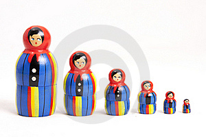 Matryoshka Dolls Royalty Free Stock Photo - Image: 17497595