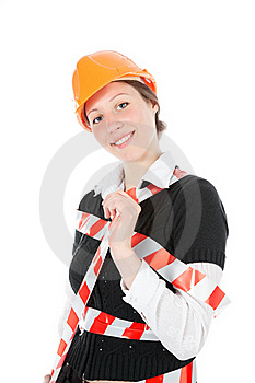 Business Woman Ordering Employees Royalty Free Stock Image - Image: 17497606