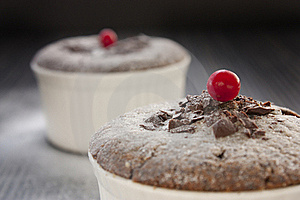 Chocolate Souffle Stock Photos - Image: 17497703