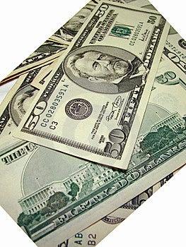 Разбросанные деньги Стоковое Фото - изображение: 1757130