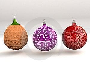 Christmas Balls Stock Image - Image: 17502721