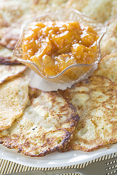 Potato Pancakes Royalty Free Stock Photography - Image: 17505177