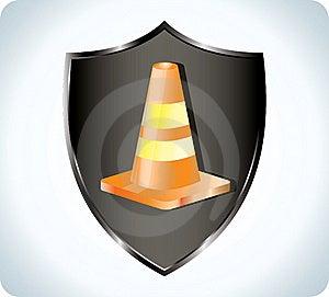 Traffic Cone Stock Photo - Image: 17505250