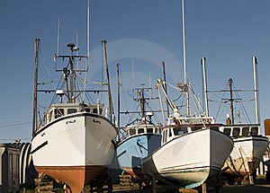 Fishing Boats Stock Image - Image: 17507031
