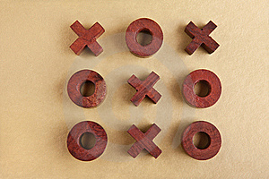 Tic Tac Toe Royalty Free Stock Photos - Image: 17507298