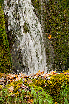Waterfall Close Royalty Free Stock Image - Image: 17508006