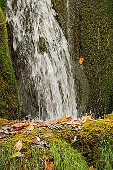 Waterfall Close Royalty Free Stock Image - Image: 17508006