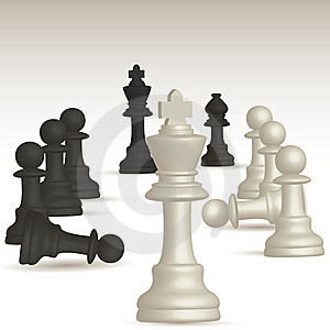 Chess Game Royalty Free Stock Image - Image: 17508496