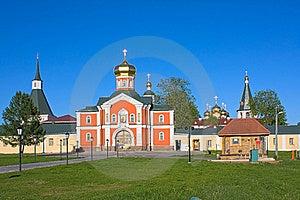 Iversky Monastery Stock Photography - Image: 17514362