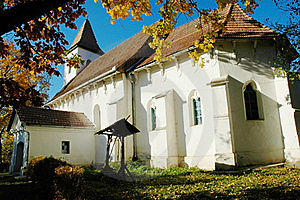 Protestant Church In Transylvania Stock Photo - Image: 17515520