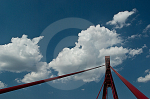 Bridge Pylon Royalty Free Stock Photo - Image: 17519455
