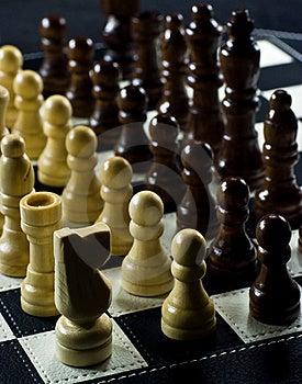 Chessboard Stock Image - Image: 17519591