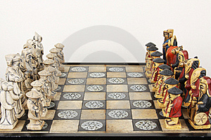 Chinese Chess Royalty Free Stock Photography - Image: 17521377