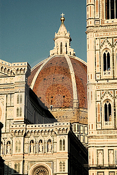 The Dome Of Florence, Italy Stock Image - Image: 17526241
