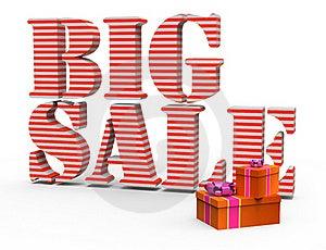 Big Sale Royalty Free Stock Photo - Image: 17527845